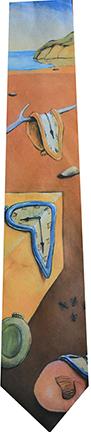 """Salvador Dali """"Time Warp"""" tie"""